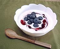 ブルーベリー&プルーンのミルクヨーグルト