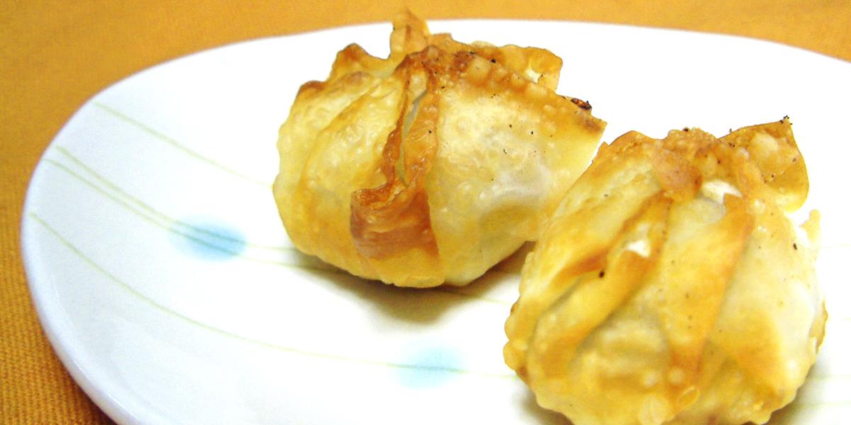 里芋のパリパリ揚げ